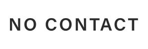NO CONTACT logo